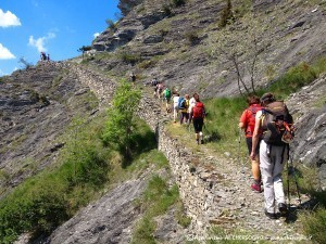 Trekking escursioni su sentieri a san michele di prazzo