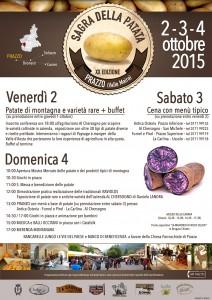 Sagra della patata 2015 - agriturismo al chersogno programma