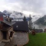 agriturismo al chersogno con la nebbia